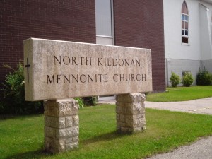north kildonan mennonite church sign
